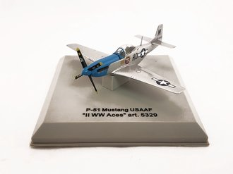 """P-51 Mustang """"USAAF, Petie 2, WWII Aces"""""""