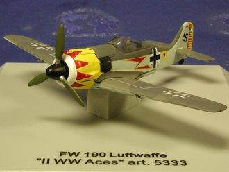 """FW 190 Luftwaffe """"II, Hermann Graf, WWII Aces"""""""
