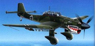 Ju87B Stuka (Shark's Mouth)