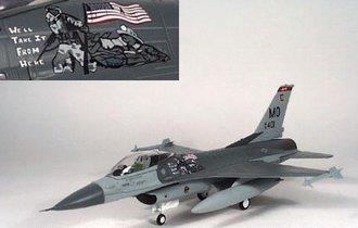 "F16 Falcon ""Enduring Freedom"""