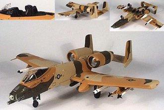 """A-10 Warthog """"Peanut"""" (Camouflage)"""