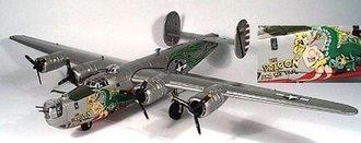 "B-24J Liberator ""The Dragon & His Tail"""