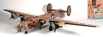 "B-24D Liberator ""The Squaw"""