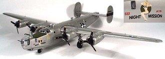 """B-24J Liberator """"Night Mission"""""""