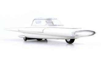 1:43 1961 Ford Gyron Concept (White)