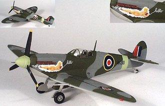 "Spitfire Mkix ""Lt. Col. Lundquist"""
