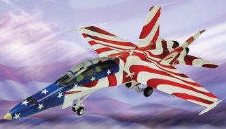 "F/A-18 Hornet ""Stars & Stripes"""