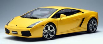Lamborghini Gallardo (Metallic Yellow)
