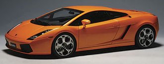 Lamborghini Gallardo (Metallic Orange)