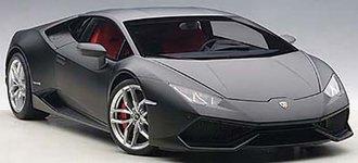 Lamborghini Huracan LP610-4, Nero Nemesis - Composite (Matt/Matt Black)