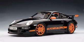 Porsche 997 GT3 RS (Black w/Orange Stripes)
