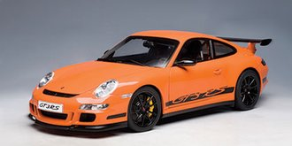 Porsche 997 GT3 RS (Orange w/Black Stripes)