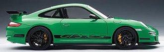 Porsche 911 (997) GT3 RS, Green w/Black Stripes