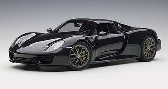 Porsche 918 Spyder (Glossy Black)