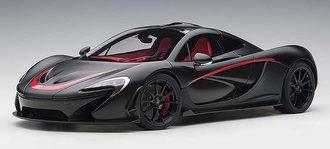 McLaren P1, (Matt Black w/Red Accents)