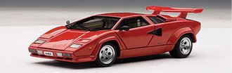 Lamborghini Countach 5000 S, Red, with openings