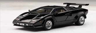 Lamborghini Countach 5000 S (with Openings) (Black)