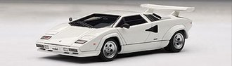 Lamborghini Countach 5000 S (with Openings) (White)