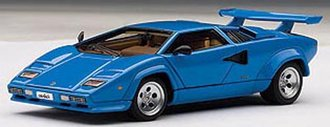 Lamborghini Countach 5000 S (with Openings) (Blue)