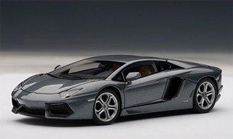 Lamborghini Aventador LP700-4, Grigio Estoque/Metallic Grey