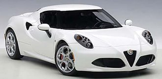Alfa Romeo 4C (Gloss White)