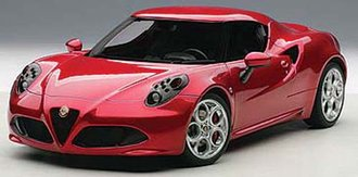 Alfa Romeo 4C (Red) (Composite)