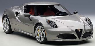Alfa Romeo 4C (Metallic Gray) (Composite)