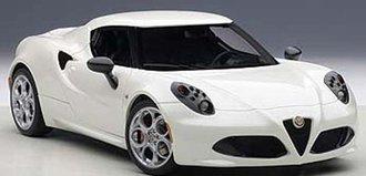 Alfa Romeo 4C (White Composite)