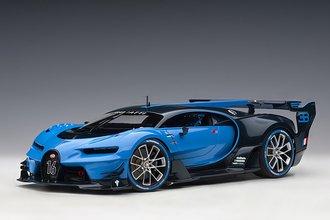 Bugatti Vision Gran Turismo (Bugatti Light Blue Racing/Blue Carbon)