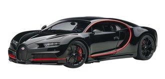 2017 Bugatti Chiron (Nocturne Black w/Red Accents)