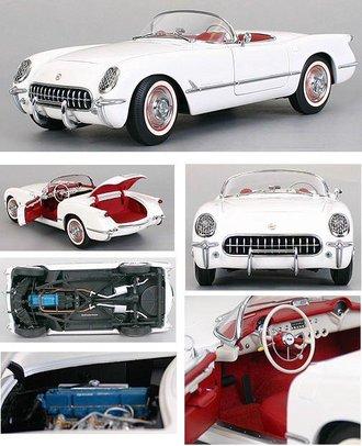 1953 Corvette C1 Roadster (Polo White)