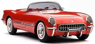 1954 Corvette (Red)