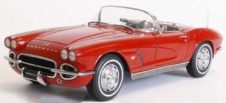 1:18 1962 Corvette Hard Top (Roman Red)