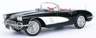 1:18 1959 Corvette (Tuxedo Black)