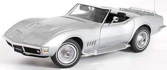1969 Corvette (Cortez Silver)