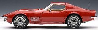 1:18 1970 Corvette (Monza Red)