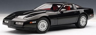 1986 Chevrolet Corvette (Black)