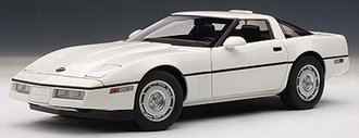 1986 Chevrolet Corvette (White)