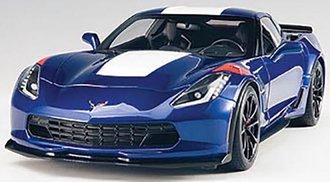 Chevrolet Corvette Grand Sport (Admiral Blue/White Stripes/Red Fender Hash Marks)