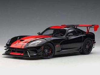 2017 Dodge Viper GTS-R Commemorative Edition ACR (Black w/Red Stripes)