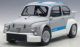 Fiat Abarth 1000 TCR (Matte Grey/Blue Stripes)