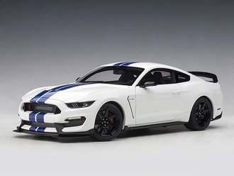 Ford Shelby GT-350R (Oxford White w/Lighting Blue Stripes)