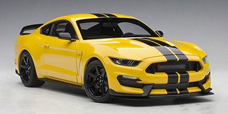 Ford Shelby GT-350R (Triple Yellow w/Black Stripes)