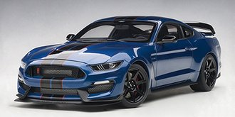 Ford Shelby GT-350R (Lighting Blue w/Black Stripes)