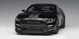 Ford Shelby GT-350R (Shadow Black w/Black Stripes)