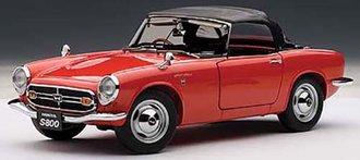 Honda S800 Roadster 1966, Red
