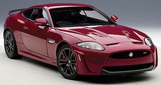 Jaguar XKR-S (Italian Racing Red)