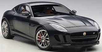 2015 Jaguar F-Type R Coupe (Matte Black)