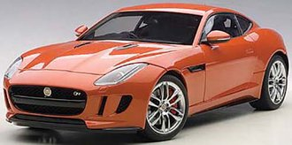 2015 Jaguar F-Type R Coupe (Firesand Metallic/Orange) (Composite)