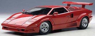 Lamborghini Countach 25th Anniversary Edition, Red